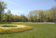 Stadtpark Stockfotos