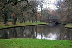 Stadtpark in Bremen Stock Foto's