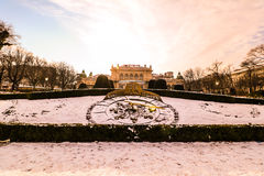 `Stadtpark` the city central park of Vienna. City Park in the center of Vienna royalty free stock photography
