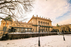 `Stadtpark` the city central park of Vienna. City Park in the center of Vienna stock images