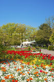 Stadtpark in Ettlingen Stockfoto
