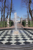 Stadtpark im Früjahr Lizenzfreie Stockfotos