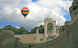 The stadtpark in Vienna Royalty Free Stock Image