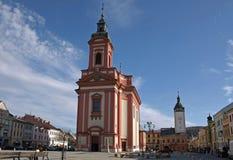 Stadtplatz Lizenzfreies Stockfoto