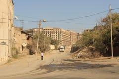 Stadtrände von Baku Lizenzfreie Stockbilder