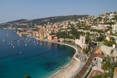 Stadtrände von Nizza Stockbilder