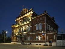 Stadtrat (Stadtwohnung) in Kungur Perm Krai Russland stockfotografie