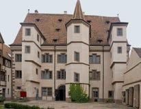 Stadtresidenz Ebersmunster in Selestat Stock Images