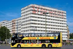 Stadtrundfahrt in Berlin Stockbild