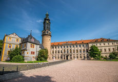 Stadtschloss en Weimar Fotos de archivo libres de regalías
