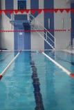 Stadtschwimmbad Stockfotos