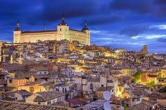 Stadtskyline Toledos, Spanien Lizenzfreie Stockbilder