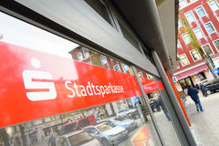 Stadtsparkasse abstract Royalty Free Stock Image