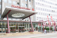 Stadtsparkasse Augsburg Stock Photos