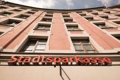 Stadtsparkasse Stock Photography