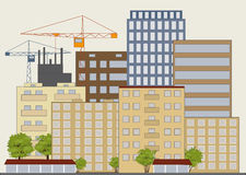 Stadtstraße Lizenzfreie Stockbilder