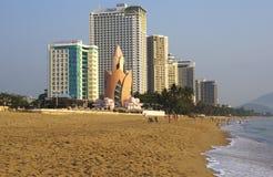 Stadtstrand. Vietnam. Nha Trang. Stockfotografie