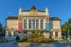 Stadttheater Klagenfurt, Austria imagen de archivo libre de regalías