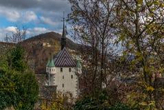 The Stadtturm of Baden in Switzerland. The Stadtturm `City Tower` of Baden in Switzerland royalty free stock images