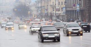 Stadtverkehr Lizenzfreies Stockfoto