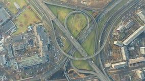 Stadtverkehr von oben