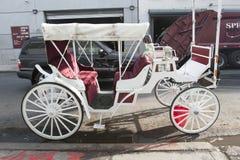 Stadtwagen in Manhattan lizenzfreie stockfotos