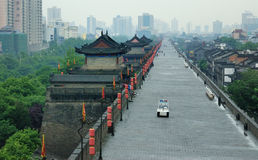 Stadtwand China-Xian Lizenzfreies Stockbild