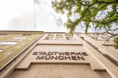 Stadtwerke München Stock Images