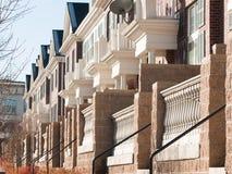 Stadtwohnungen Lizenzfreie Stockbilder