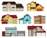 Stadtwohnungen Stockbilder