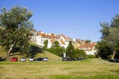 Stadtwohnungen, alte Stadt in Warschau Lizenzfreies Stockbild