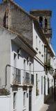 Stadtwohnungen, Arcosde-La Frontera, Andalusien, Spanien Stockbild