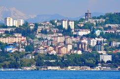Stadtwohnungen in Sochi Stockbild