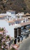 Stadtwohnungen, Torox, Andalusien, Spanien. Stockfotografie