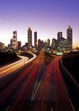 Stadtwolkenkratzer, Atlanta, USA. Stockfotografie