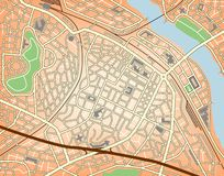 Stadtzentrum vektor abbildung