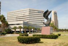 Stadtzentrum in Corpus Christi, Texas Lizenzfreie Stockfotografie