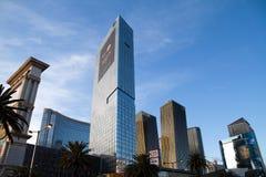 Stadtzentrum Las Vegas Stockbilder