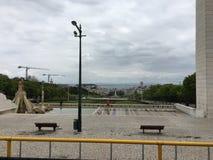 Stadtzentrum Lissabon, Portugal Stockbild