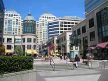 Stadtzentrum, Oakland, Kalifornien Stockfotos