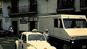 Stadtzentrum Taxco de Alarcon in Mexiko stock video