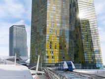 Stadtzentrum-Tram, Las Vegas, Nevada Lizenzfreie Stockfotos