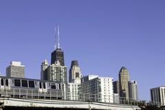 Stadtzentrum von Chicago Lizenzfreie Stockfotos