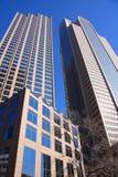 Stadtzentrum von Dallas Texas lizenzfreies stockfoto