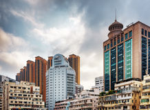 Stadtzentrum von Hong Kong Stockbild