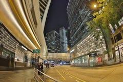 Stadtzentrum von Hong Kong, China Lizenzfreie Stockfotos
