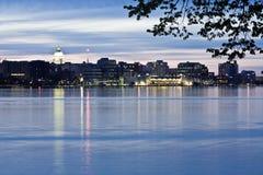 Stadtzentrum von Madison Lizenzfreies Stockfoto