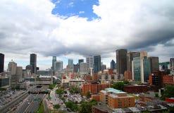 Stadtzentrum von Montreal Lizenzfreie Stockbilder