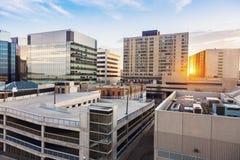 Stadtzentrum von Regina Stockfotos