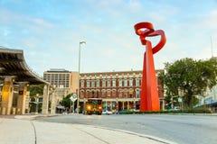 Stadtzentrum von San Antonio Stockfotografie